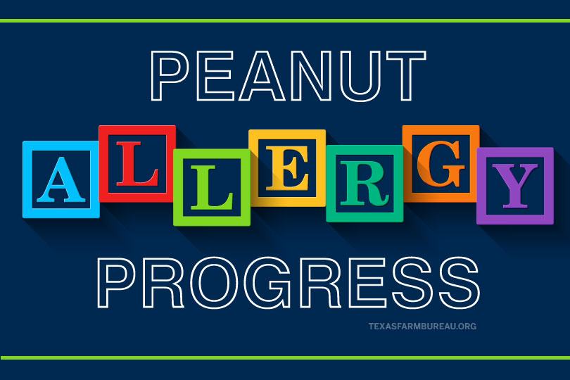 Could peanut allergies be a thing of the past? Jennifer Dorsett discusses some of the new research that indicates ways to combat the allergy on Texas Table Top.